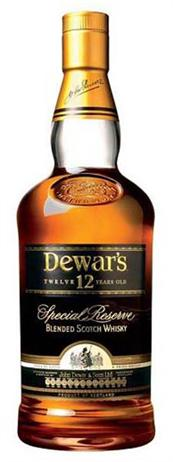 Dewars Scotch 12 Year